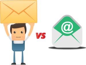letter vs email